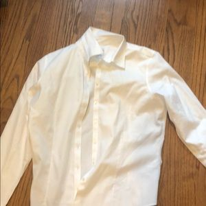 Brooks Brothers white oxford